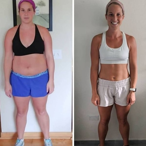 Krásna fitneska (27) vytvorila