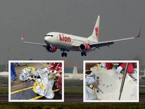 Vylovené trosky lietadla