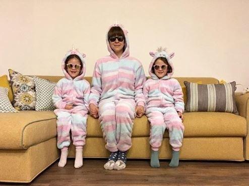 Kristína Tormová s dcérami