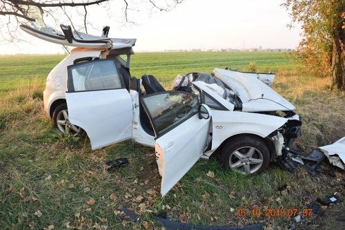 Polícia vyšetruje vážnu nehodu