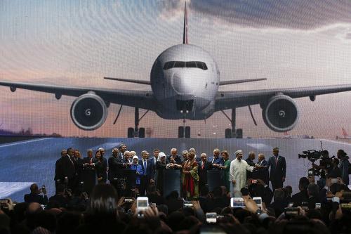 Erdogan otvoril nové letisko