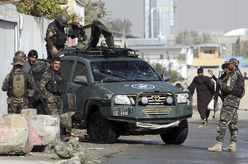 Samovražedný útok v Afganistane.