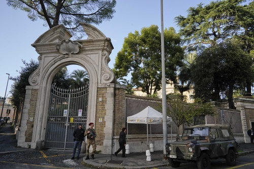 V budove Vatikánu našli