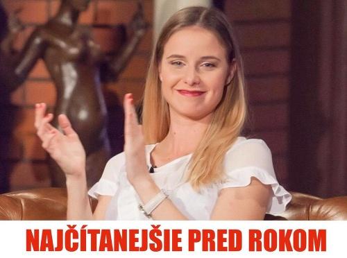 Nela Pocisková sa objavila
