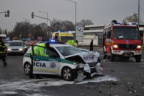 Nehoda v Trnave