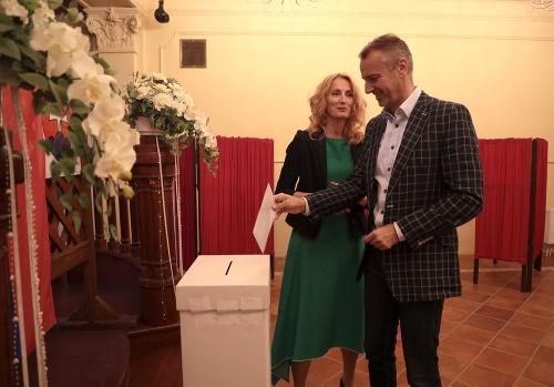 Richard Raši s manželkou