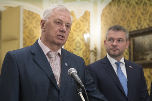 Michal Sýkora a Peter