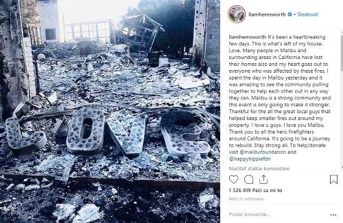 Liam Hemsworth vyjadril podporu