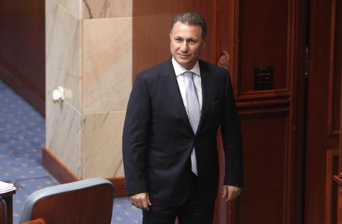Bývalý premiér Nikola Gruevski