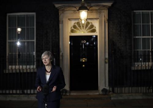 Britská premiérka oznámila dnes