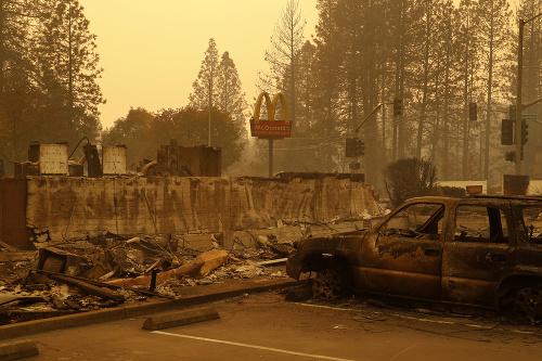 FOTO Kalifornské peklo: Počet