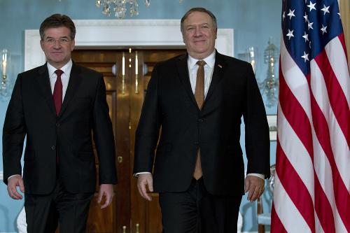 Miroslav Lajčák a Mike