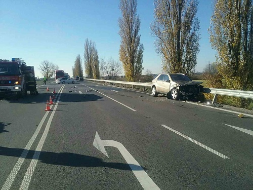 Serious traffic accident