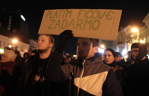 Protest in Kosice