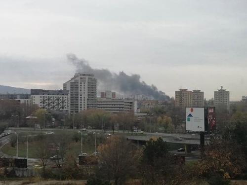 Požiar v mestskej časti