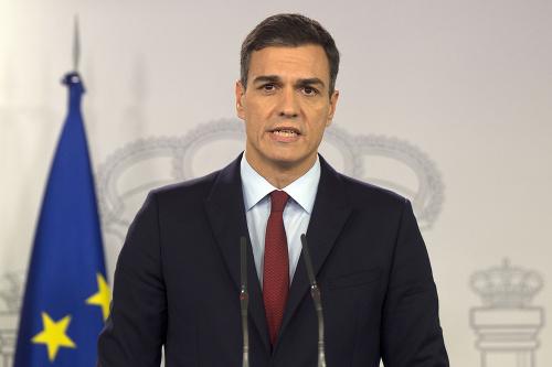 Španielsky premiér Pedro Sanchez.