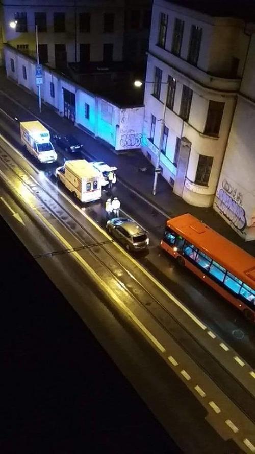 Nehoda v Bratislave: VIDEO