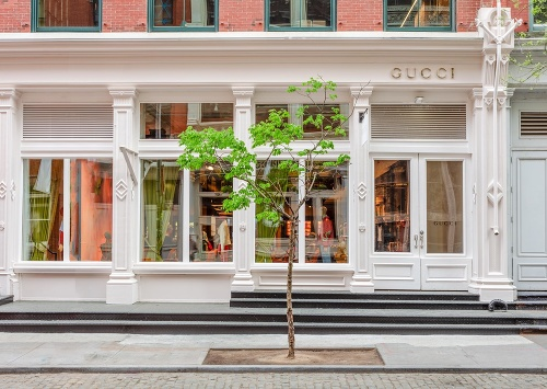 Módny dom Gucci.