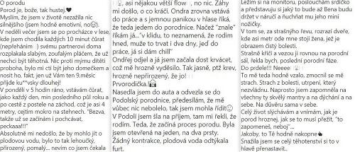 Drsné slová českej herečky