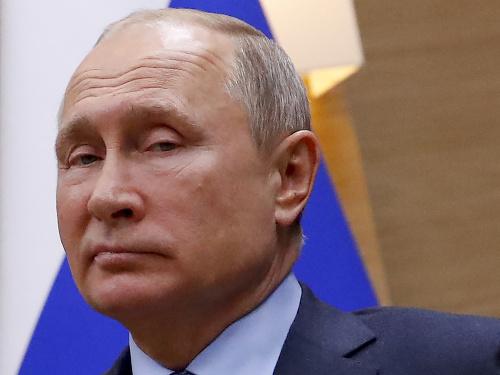 Vladimir Putin a jeho