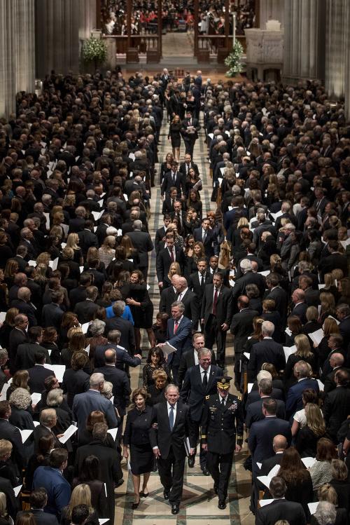 Pohreb bývalého prezidenta USA