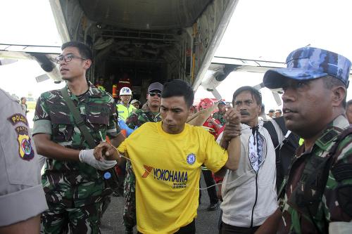 Indonézska polícia našla scénu