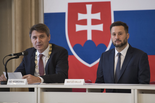 Ivo Nesrovnal a Matúš