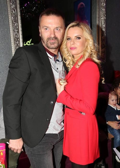 Tomáš Řepka s priateľkou