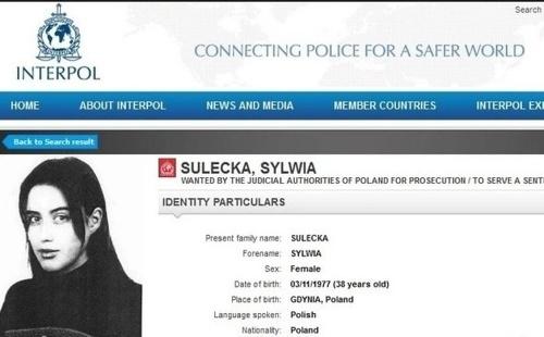 Pašeráčka Sylwia z kokaínového