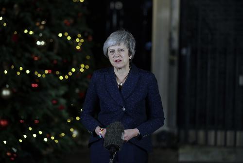 Britská premiérka Mayová počas