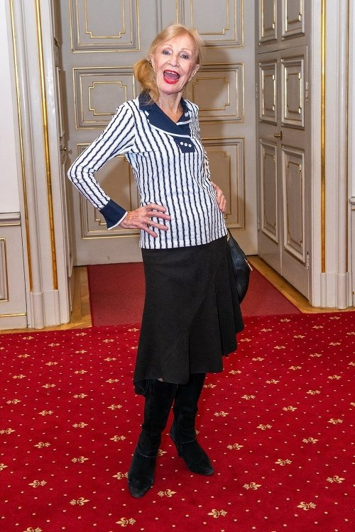 Najstaršia slovenská herečka (91)