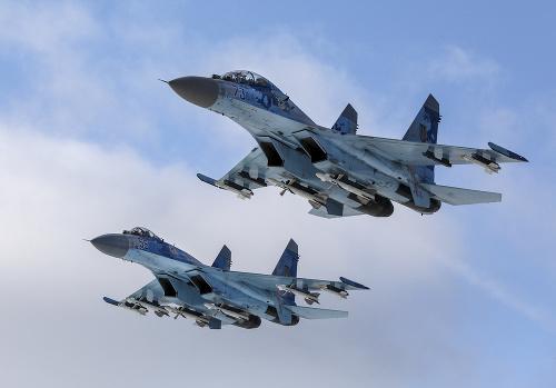 Ukrajinské stíhačky Su-27