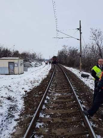 Po zrážke vlaku a