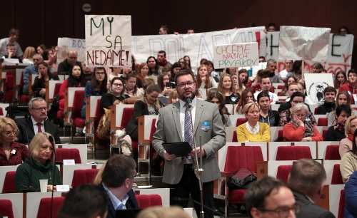 Veľký protest v Košiciach: