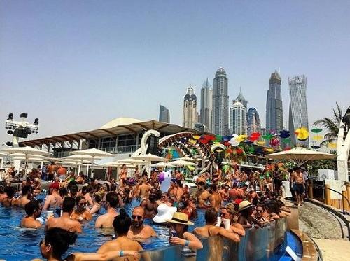 Nechutné FOTO z dubajského