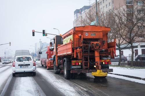 Dopravný kolaps v Bratislave: