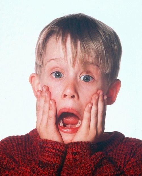 Macaulay Culkin ako rozkošný