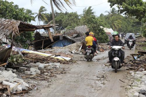 Vlna cunami v Indonézii
