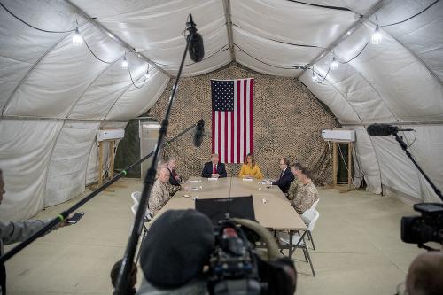 Americký prezident v armádnom