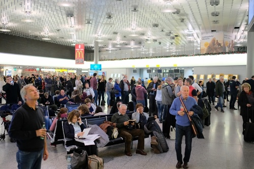 Letisko v Hannoveri znovu