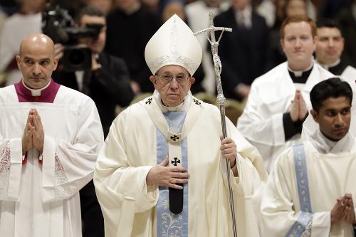 Pápež František sa prihovoril