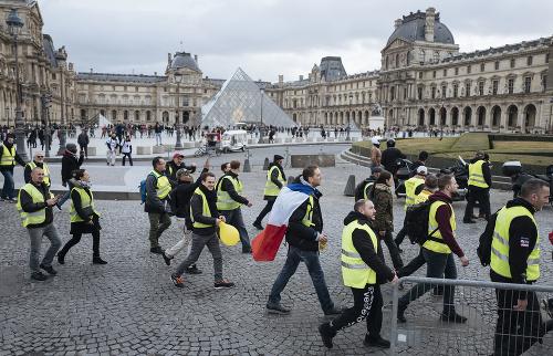 Protesty žltých viest