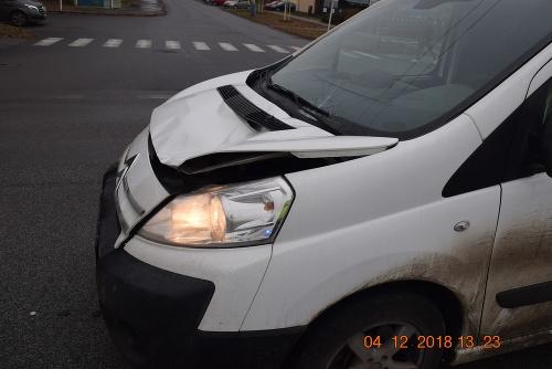 Nehoda v Prešove.