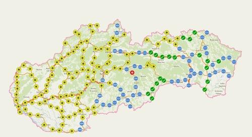 Aktuálna situácia na Slovensku.