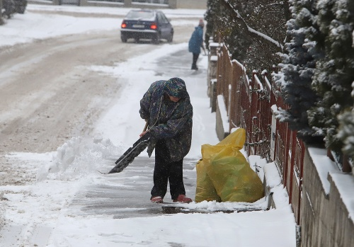 Dopravná situácia počas sneženia