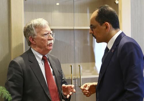 John Bolton a Ibrahim