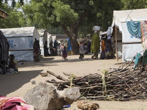 Tábor pre vysídlených v