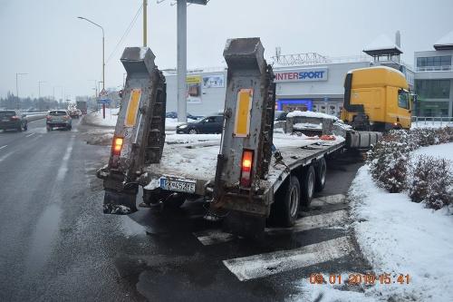 K netradičnej nehode cestného