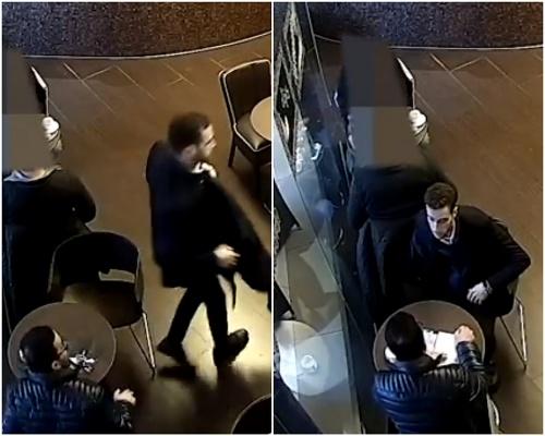Krádež v bratislavskej kaviarni