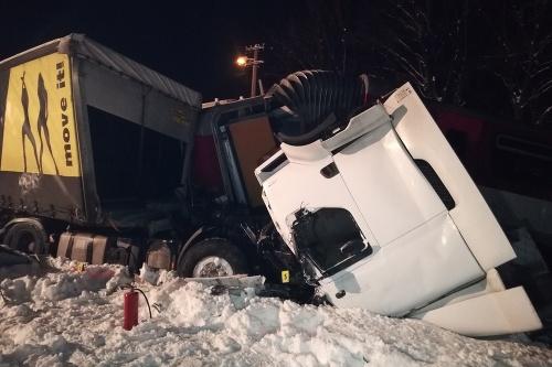 FOTO Hrozivá nehoda vlaku